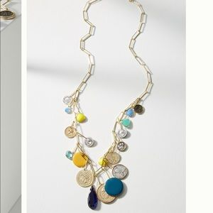 Anthropologie - Bethany Charm Necklace